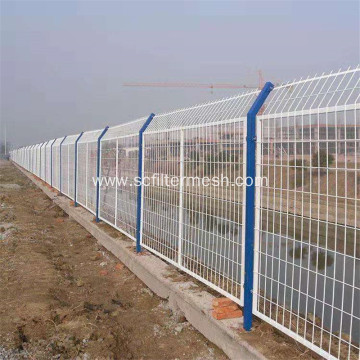 Powder Coated Welded Wire Mesh Garden Fencing